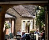 Restaurant in the Cotswolds, England