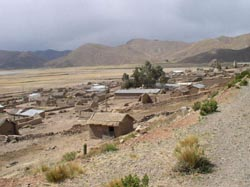A village on the road between Oruro and Potosi