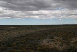 The waste land of northern Patagonia, from Ruta 3